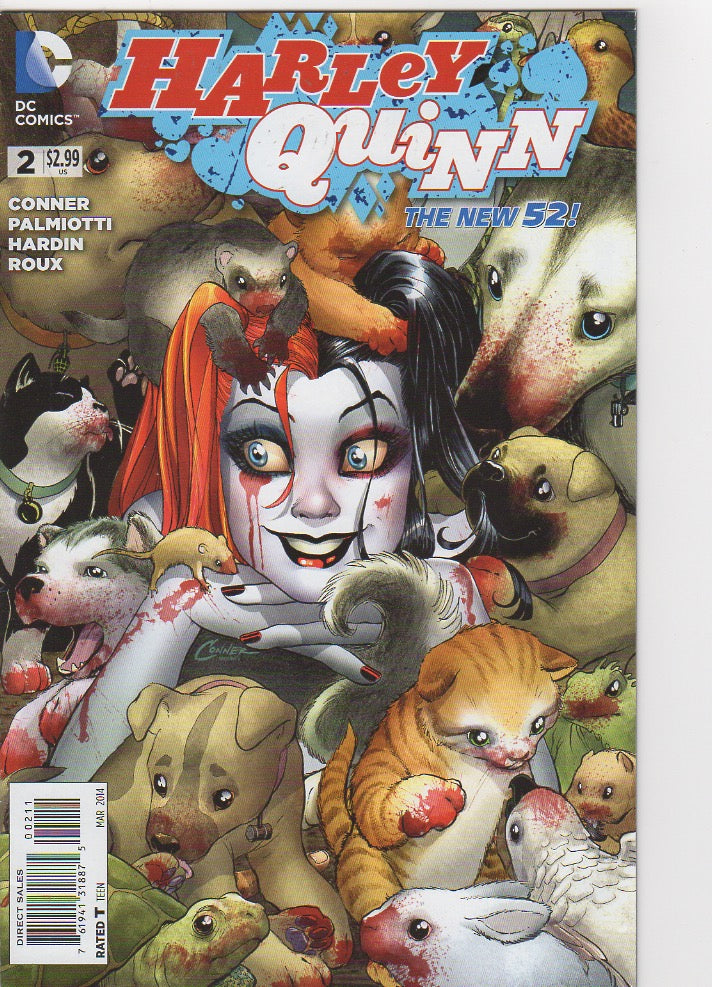 Harley Quinn New 52 - 2 VF