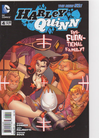 Harley Quinn New 52 - 4 VF