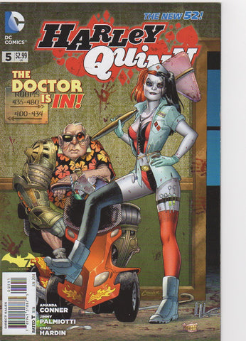 Harley Quinn New 52 - 5 VF