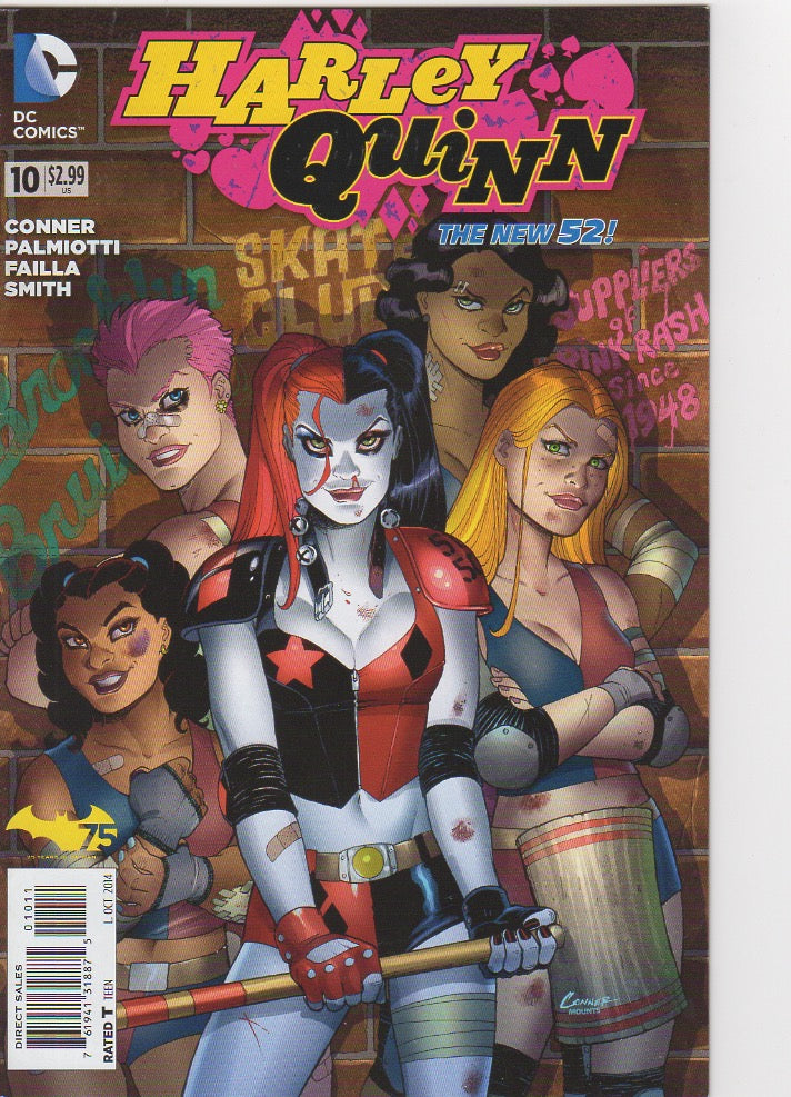 Harley Quinn New 52 - 10 VF