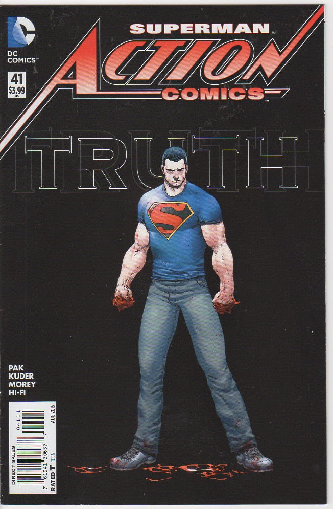 Action Comics Vol 2 - 41 VF+