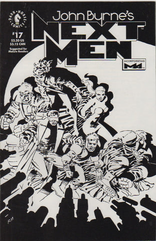 John Byrne's Next Men 17 VF+
