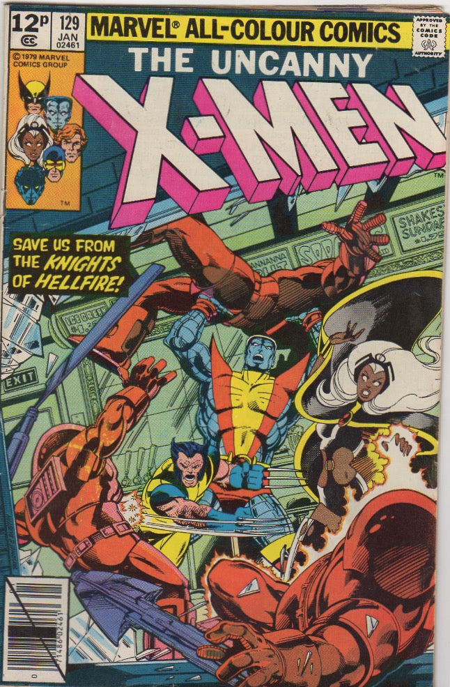 Uncanny X-Men 129 F - First Kitty Pride