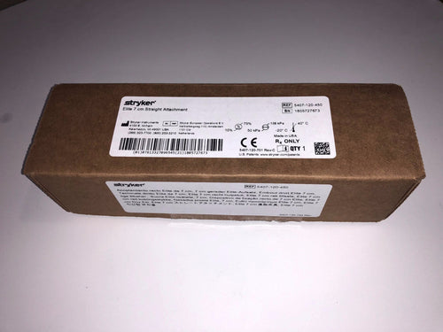 5407-120-450 Elite 7cm Straight Attachment NEW IN BOX