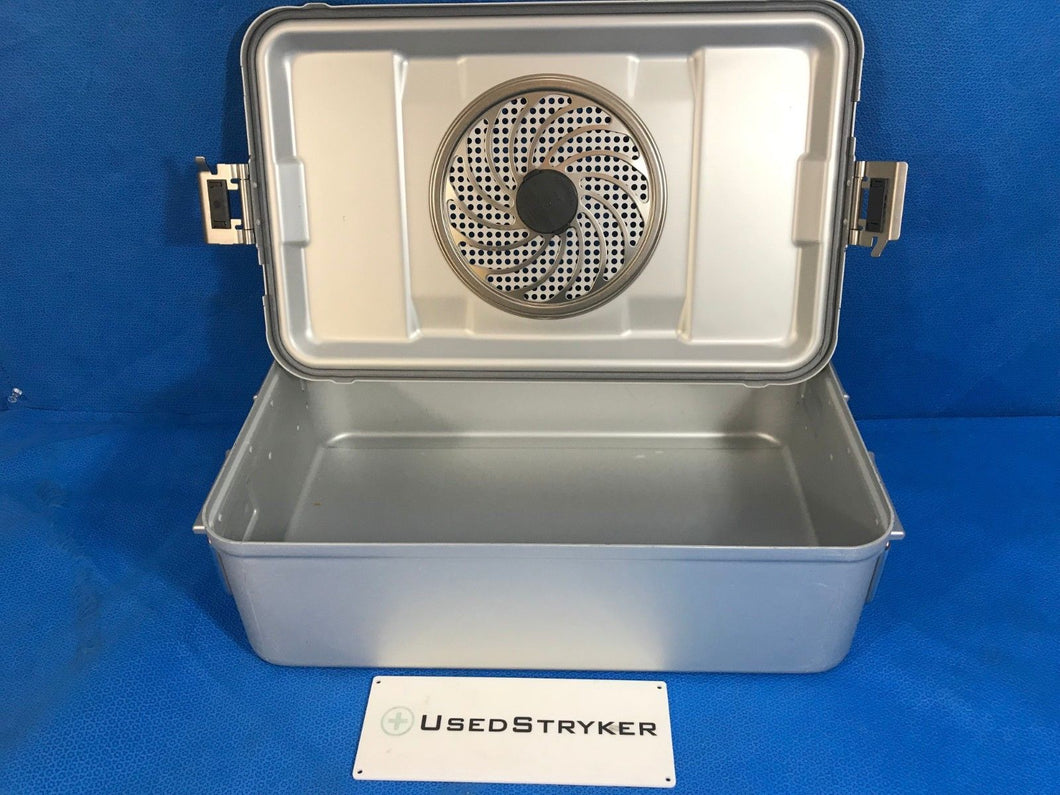 AESCULAP JK742 STERILIZATION CASE SURGICAL MEDICAL - UsedStryker