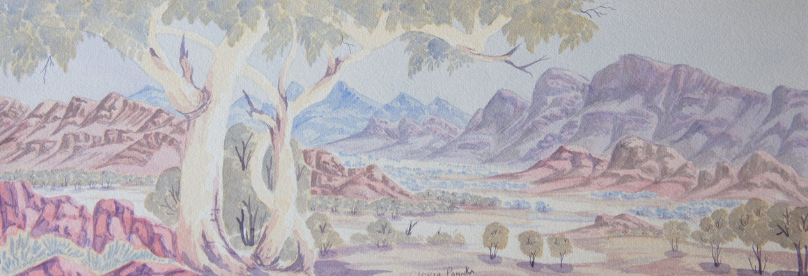 West MacDonnell Ranges - 26cm x 74cm