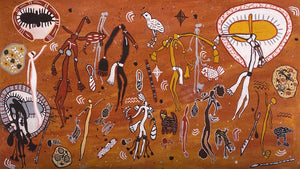 Kira Kiro Spirits and my Ancestors- 140cm x 80cm