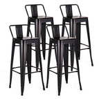 Metal Bar Stools Set of 4-MC02