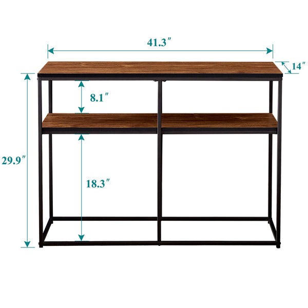 2 Tier Console Table Multipurpose