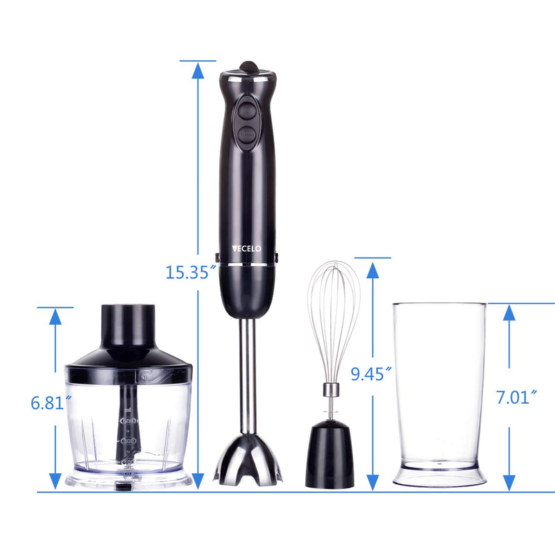 700W Immersion Hand Blender Set - Vecelo furniture