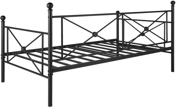 Classic Metal Daybed Frame Multifunctional Mattress Foundation YT-T22