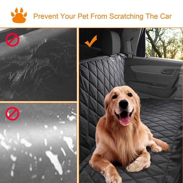 Dog Car Seat Cover Pet Car Mat Waterproof Scratch Proof Nonslip