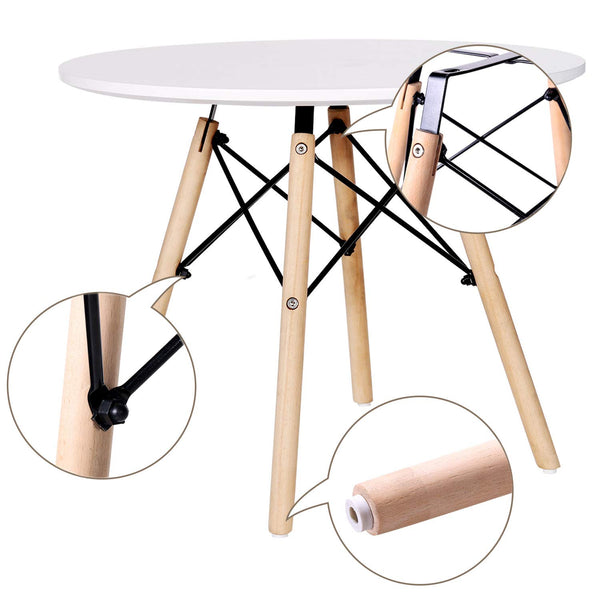 Kids Dining Table Round Leisure Mini Style Tables