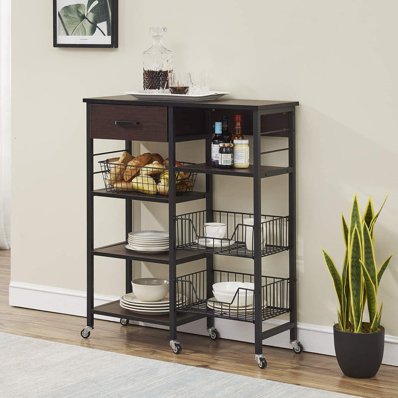 4-Tier Kitchen Organizer with Drawer