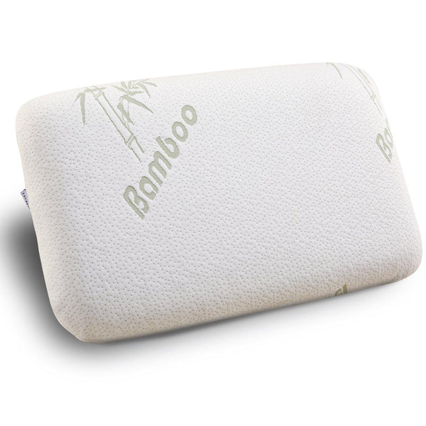 Bamboo Memory Foam Pillow with Zipper