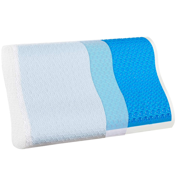 Cooling Pillow for Side Sleeper Relieve Neck Pain