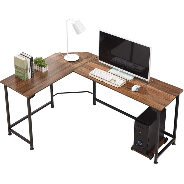 L-Shaped Corner Computer Desk VECELO Furniture