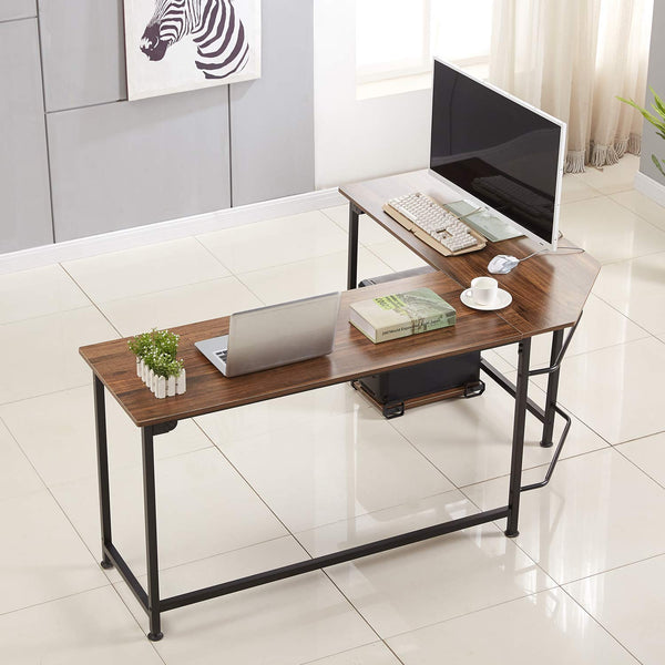 Corner Table L-Shaped Computer Office Writing Desk