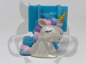 Fluffy Unicorn Silicone Mold - Straw Topper