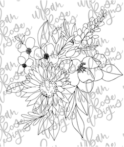 Flower Graphic - Digital File