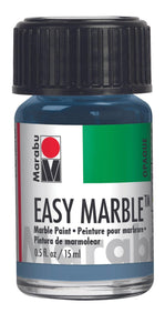 Grey Blue 140 - Marabu Easy Marble Paint