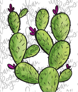 Prickly Cactus - Digital File