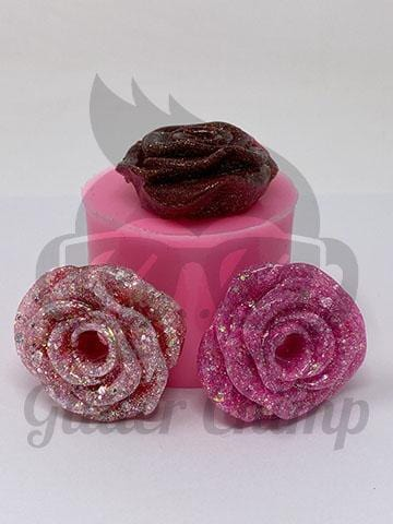 Rose Silicone Mold - Straw Topper