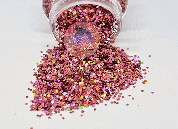 Cactus Blossom - Chunky Holographic Glitter