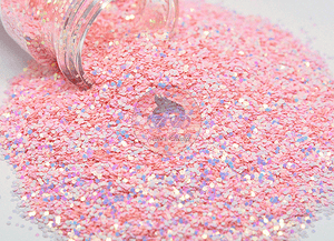 Pink Cadillac - Chunky Color Shifting Glitter