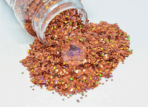 Cinnamon - Chunky Holographic Glitter