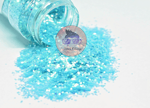Cool Waters - Chunky Rainbow Glitter