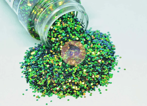 Green Monster - Chunky Color Shifting Glitter