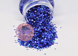 Bluebonnets - Chunky Holographic Glitter