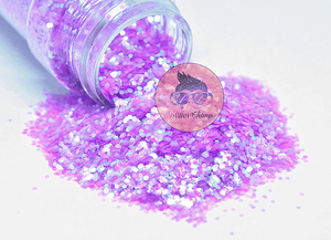 Lilac It - Chunky Rainbow Glitter