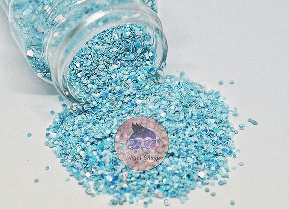 Blue Skies - Chunky Color Shifting Glitter