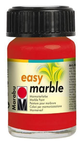 Cherry Red 031 - Marabu Easy Marble Paint