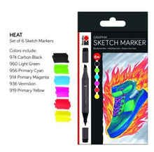 Load image into Gallery viewer, Heat Sketch Markers - Marabu