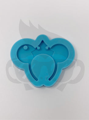 Evil Queen - Mouse Headband Silicone Mold - Keychain