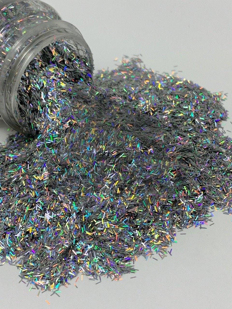 Silver Trimmings - Shape Glitter - 2oz