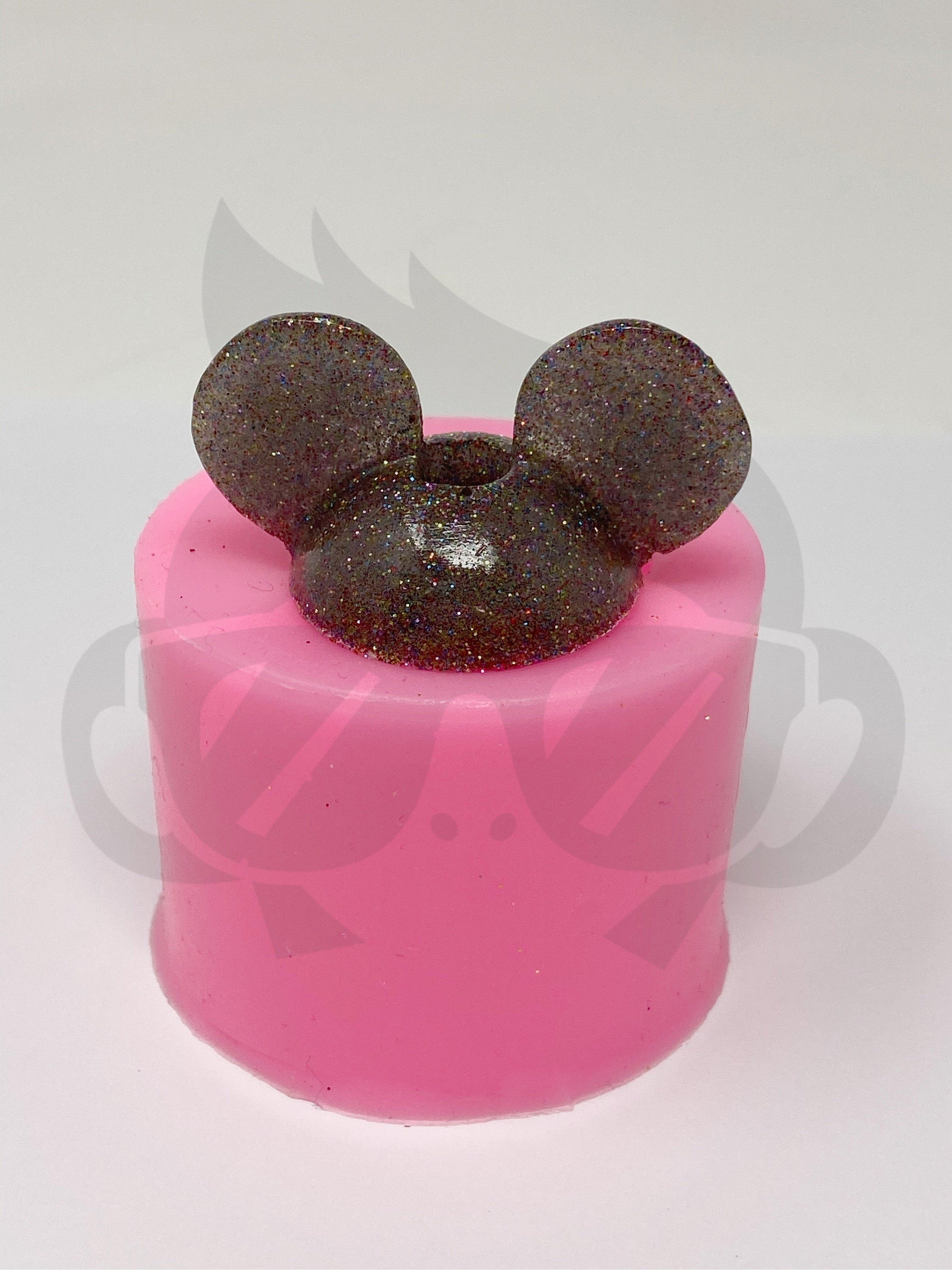 Mouse Ears Straw topper Straw Topper Silicone Mold
