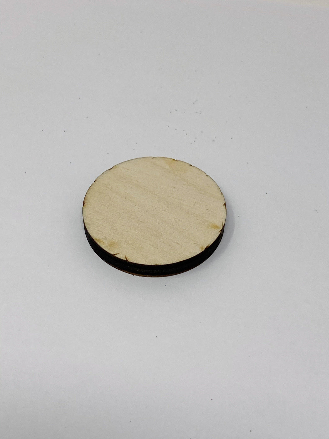 1.75 Inch Laser Cut Baltic Birch Disc