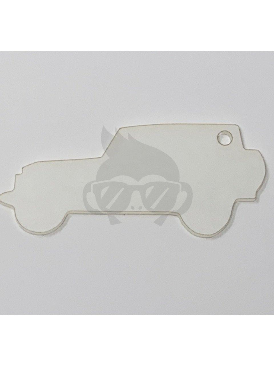 Acrylic 4X4 SUV Shaped Key Chain