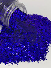 Load image into Gallery viewer, Blue Me Away - Chunky Glitter