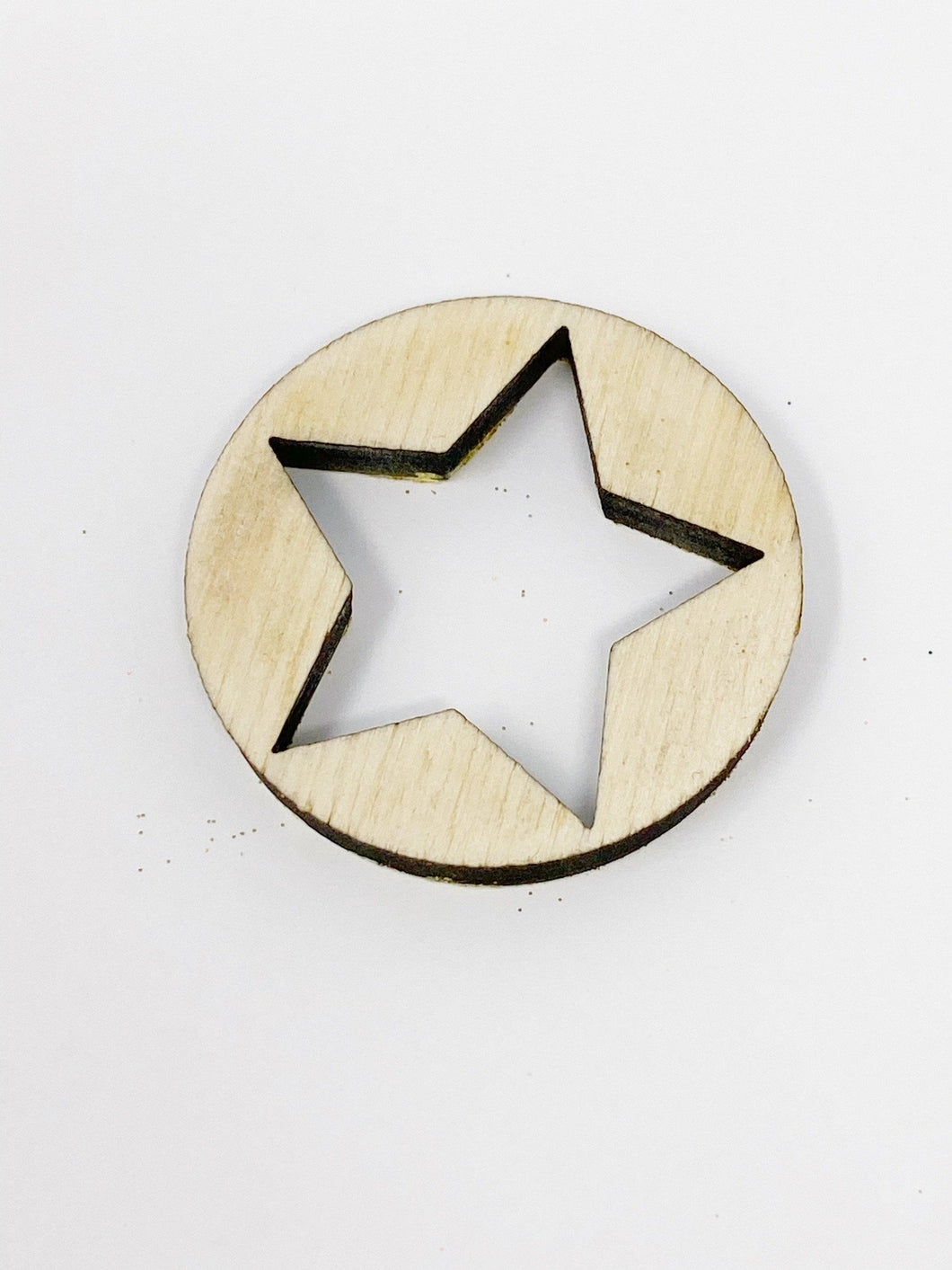 Knockout Star 1.75 Inch Laser Cut Disc