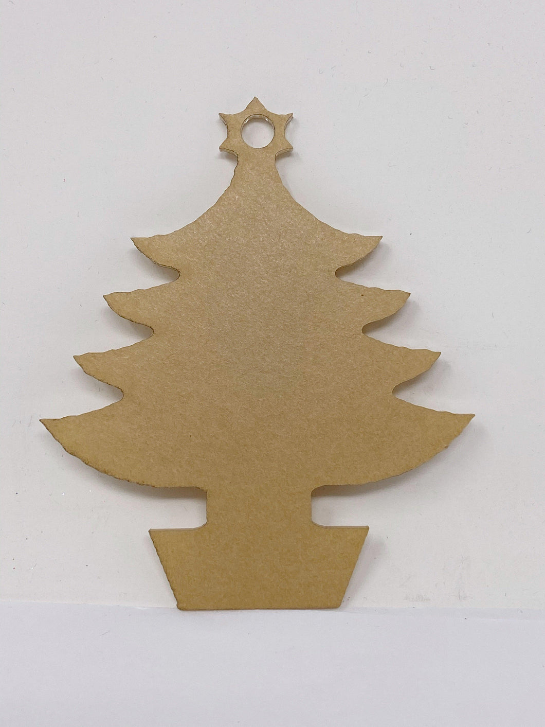 Acrylic Traditional Christmas Tree Ornament