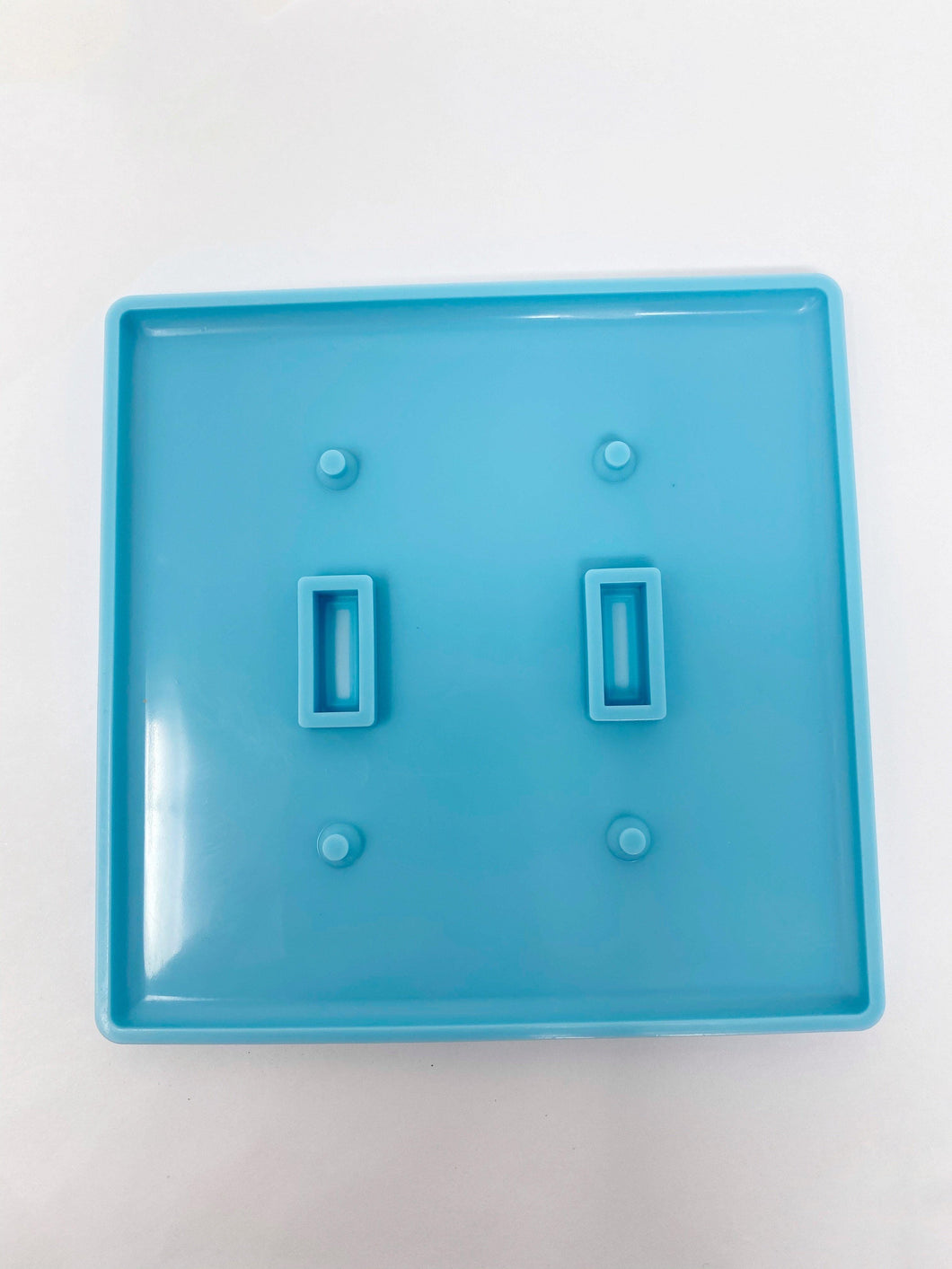 Double Switch Cover - Silicone Mold - Light Switch