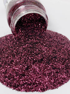Black Cherry - Coarse Glitter