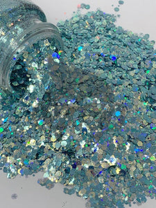 Dance Teal Dawn - Mixology Glitter