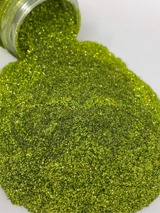 Matcha - Ultra Fine Super Holographic Glitter - Perfect for Tack-It Method