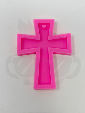 Cross silicone mold - Keychain